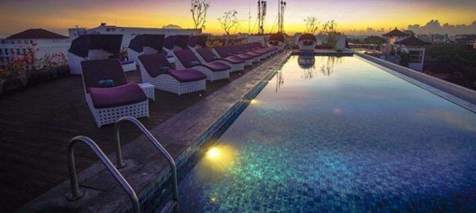 Asiknya menginap di hotel Citadines Kuta Beach Bali