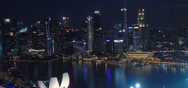 Tempat wisata sore hari di Singapura