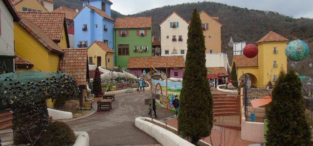 Desa wisata Petite France, Korea Selatan